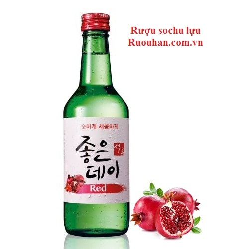 Ruou soju sochu luu-Muhak good day soju red